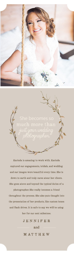 Karinda K Wedding Photography Reviews