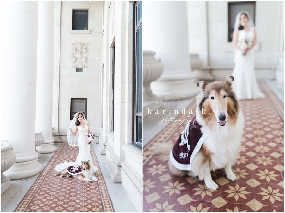 Texas A&M Bridal Portraits Reville College Station Wedding Photography