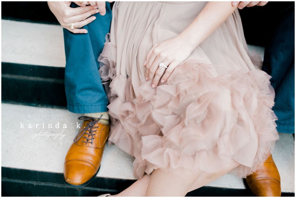 The Woodlands TX Engagement Session
